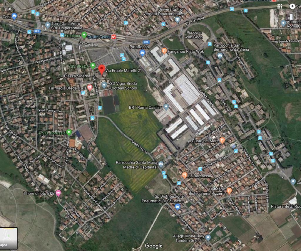 mappa quartiere piediperterra grotte celoni