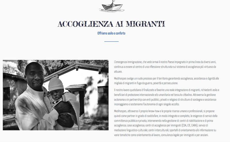 sito Cooperativa Medihospes