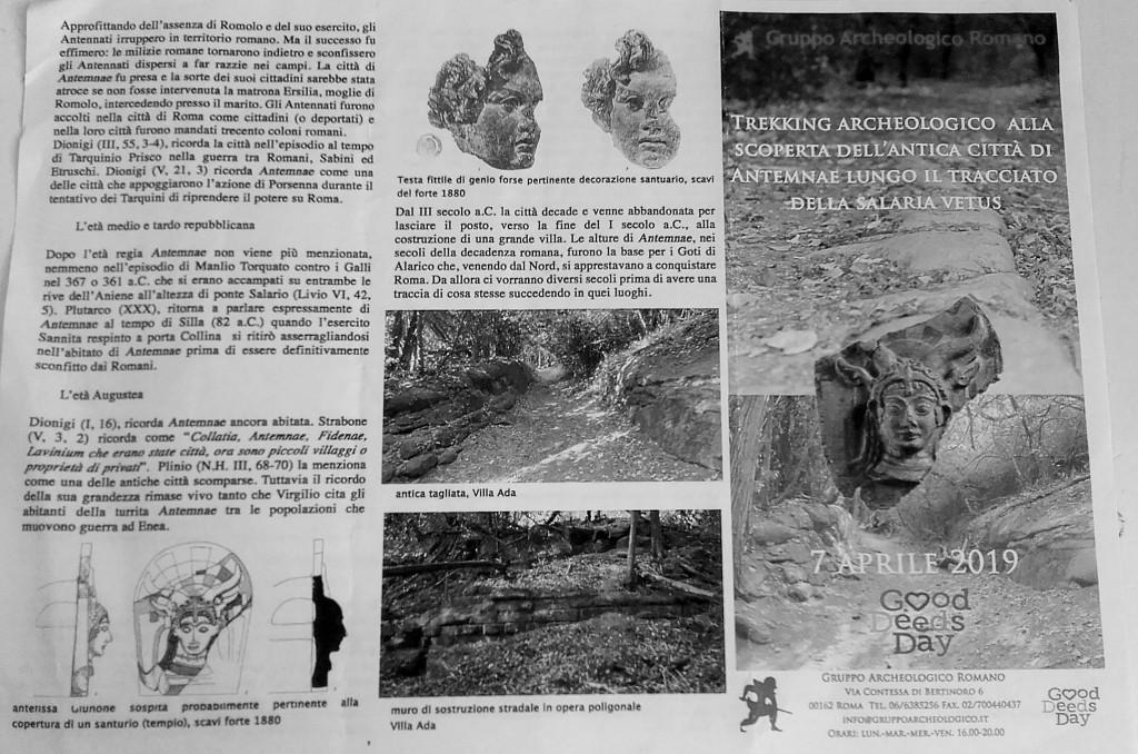 Scheda realizzata da Gruppo Archeologico Romano. Federico Gentile.