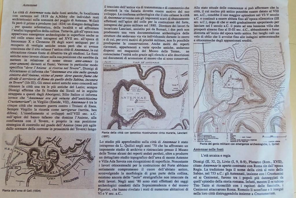 Scheda realizzata da  Gruppo Archeologico Romano, Federico Gentile.