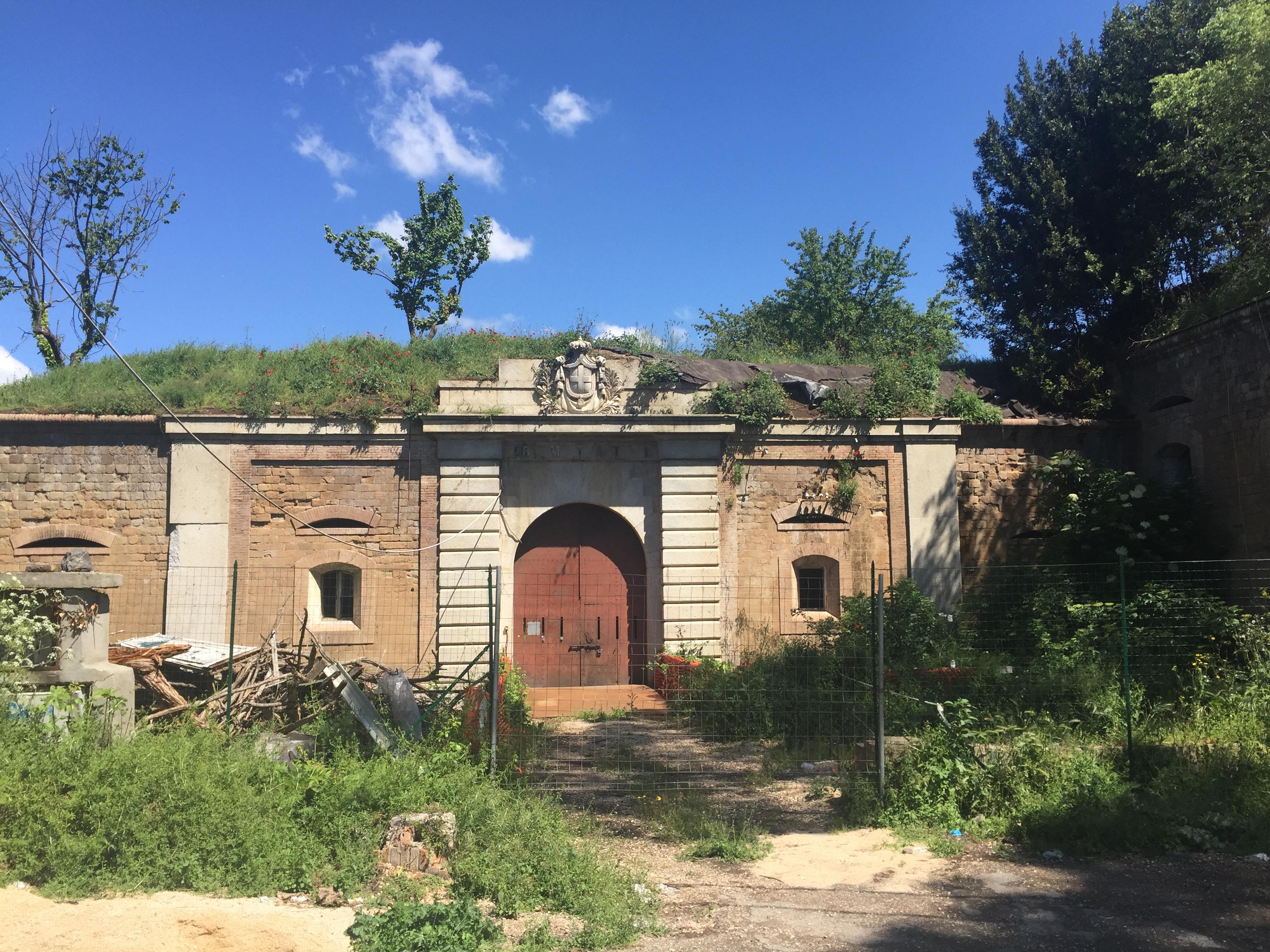 Forte Antenne (foto AMBM), uno dei beni indisponibili del patrimonio capitolino