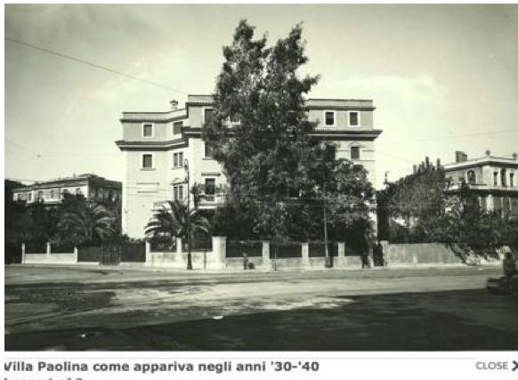 Relazione storica Villa Paolina a cura del Comitato