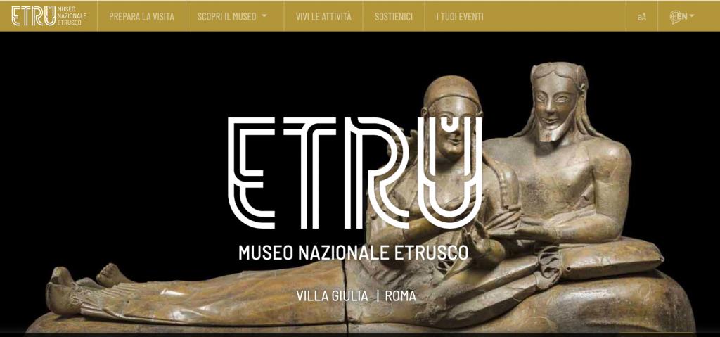 SITO VILLA GIULIA MUSEO ETRUSCO