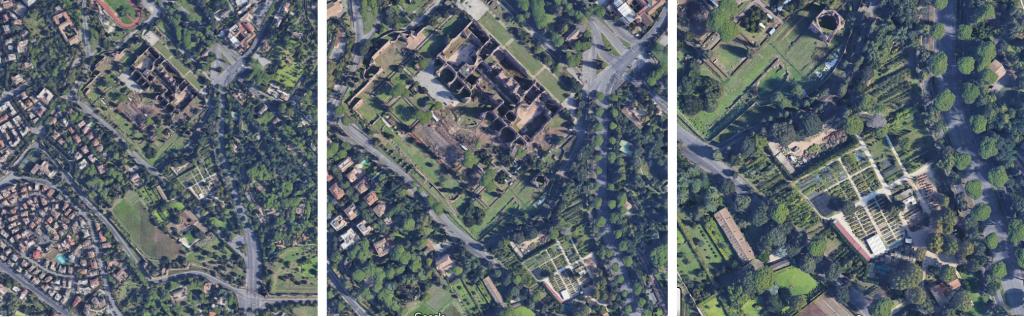 3 map vivaio terme di Caracalla