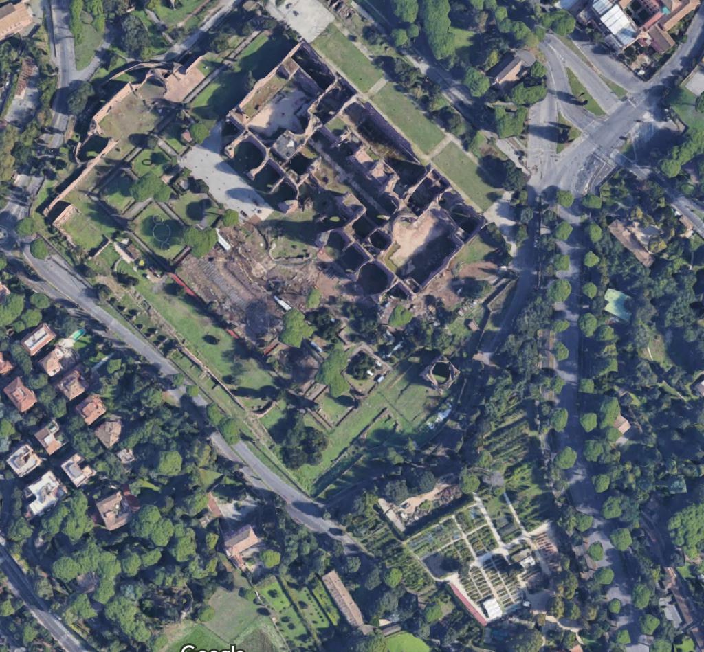 foto 2 map vivaio terme di Caracalla