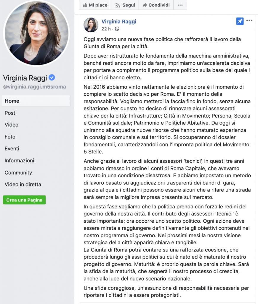 da Fb Virginia Raggi 2019-09-23