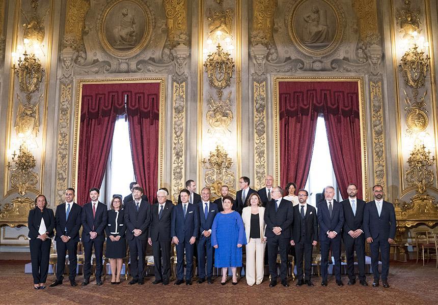 Dal sito del Governo Italiano - Conte 2