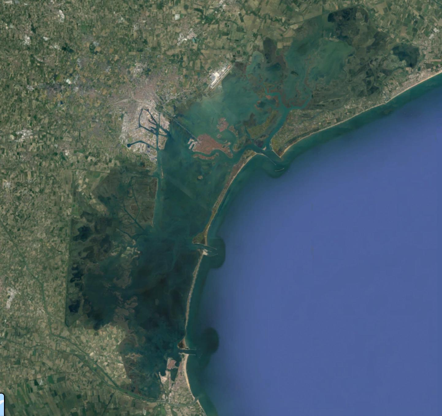 laguna Venezia map