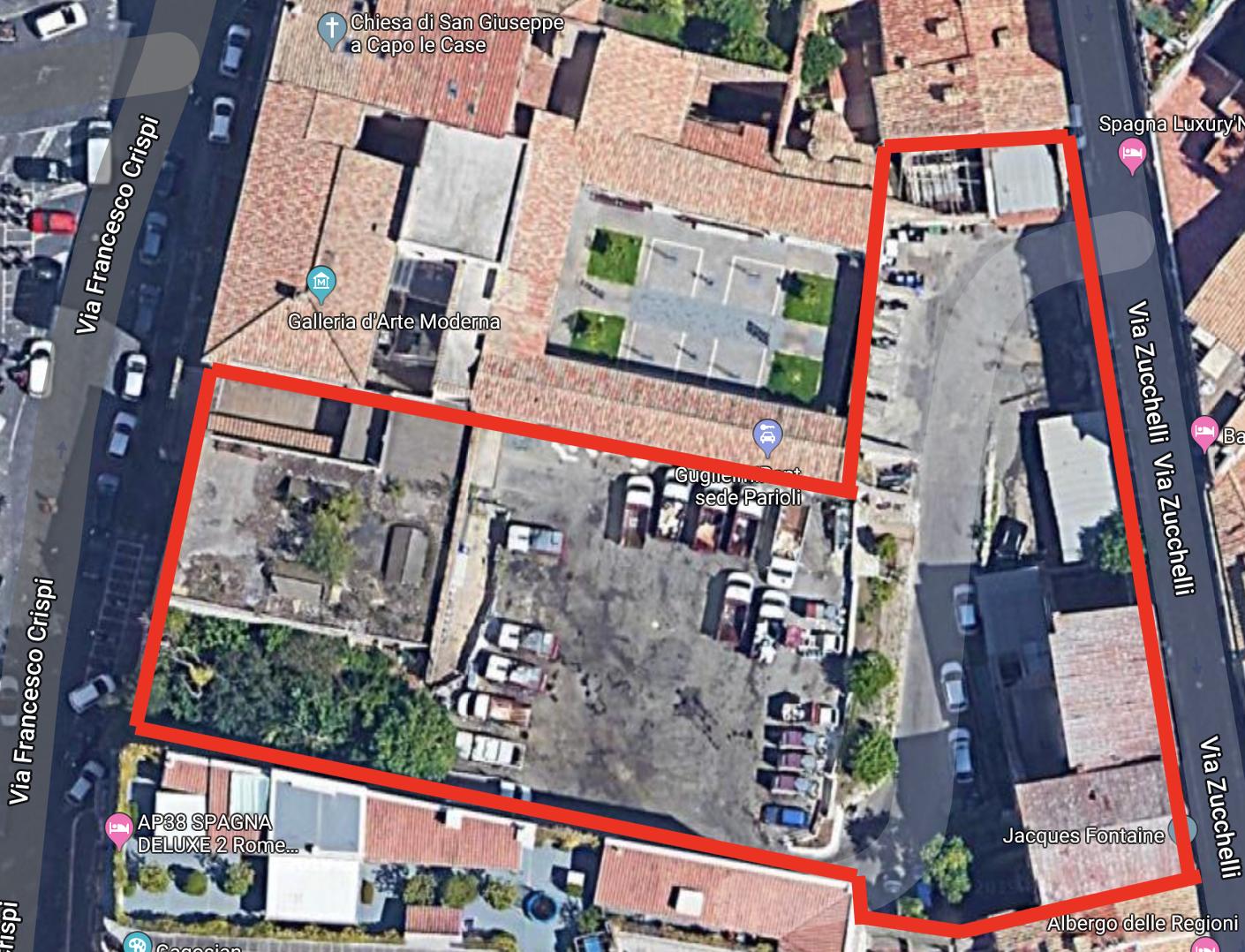 map via crispi zucchelli google con sagoma