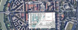 mappa ex stabilimenti con progetto flaminio