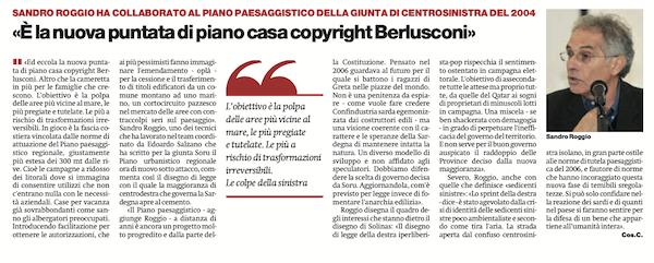 Manifesto 18 gennaio 2020 coste sardegna - Roggio