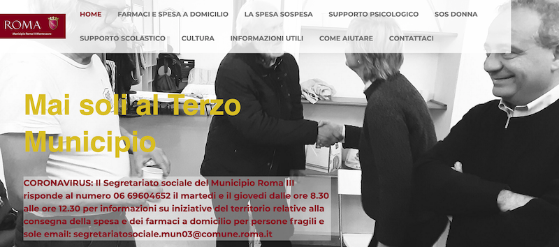 sito maisoli terzo municipio Schermata 2020-04-06 alle 11.28.26