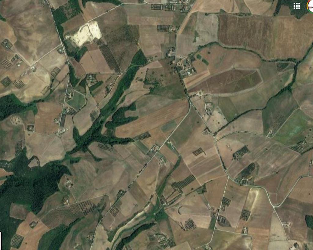 Pianaccio Montebello - Tuscania, dove la Regione Lazio ha autorizzato nel gennaio 2020  un impianto fotovoltaico  di circa 65 ettari (39 MWp)