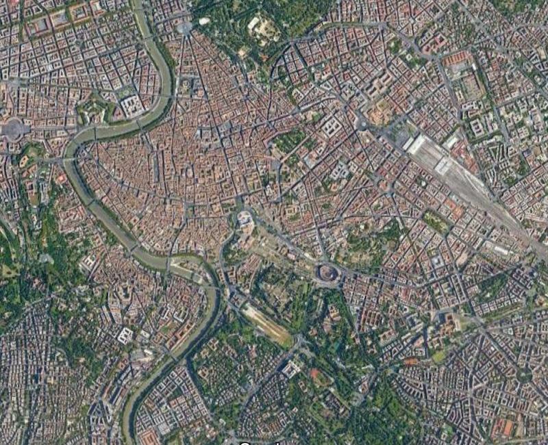 centro storico map
