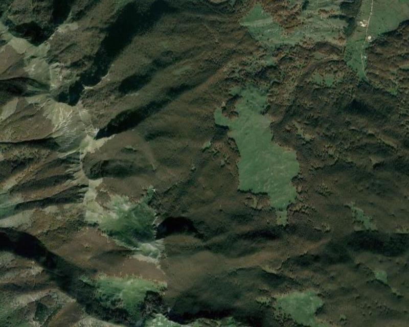 map boschi Lazio