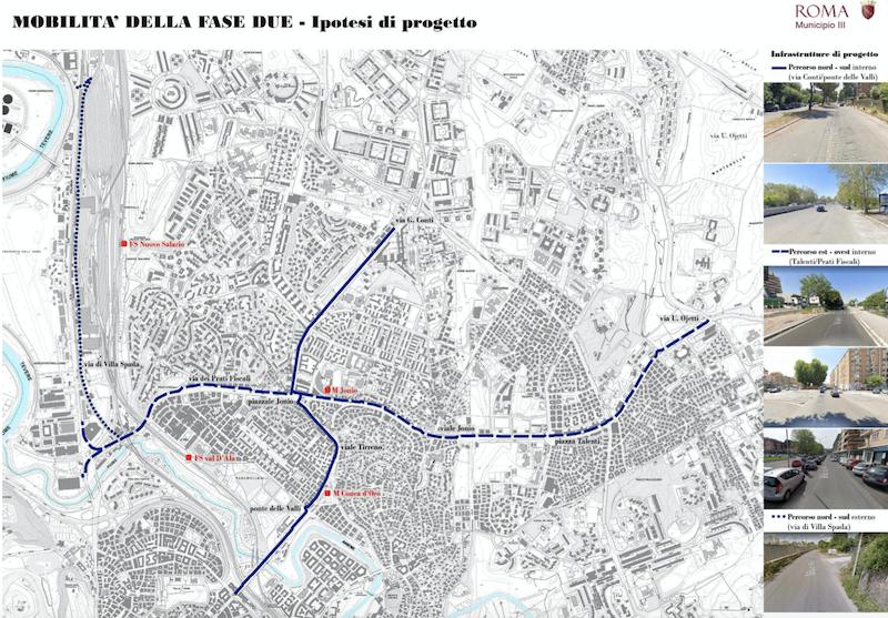 mobilità-mappe III municipio piste ciclabili 2