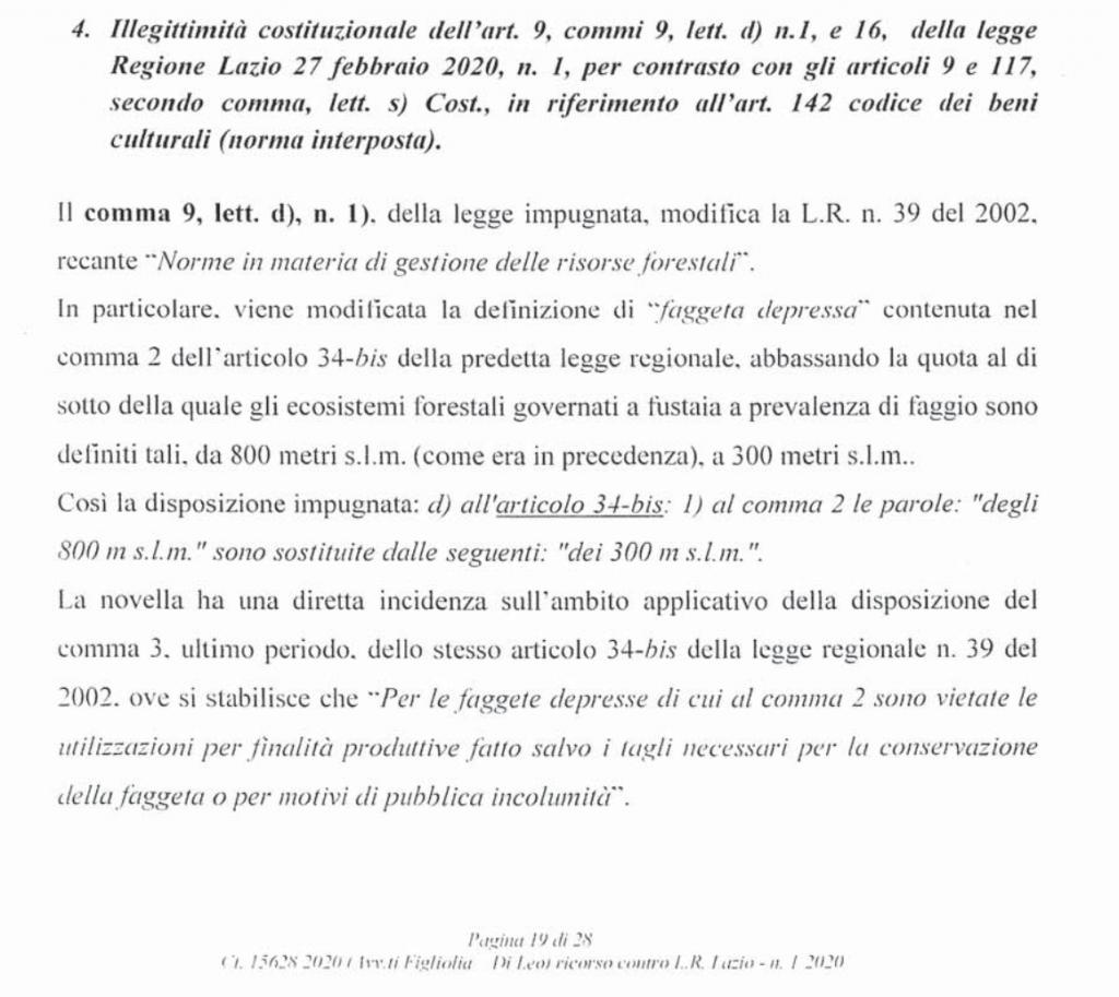 ricorso mibact regione maggio 2020 pag. 19b punto 4