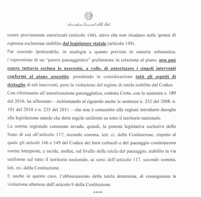 ricorso mibact regione maggio 2020 pag. 21 punto 4