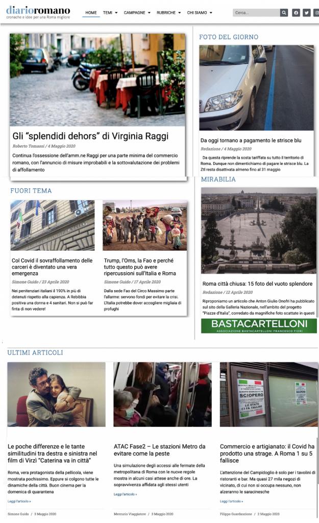 sito diarioromano 1Schermata 2020-05-04 alle 11.09.45