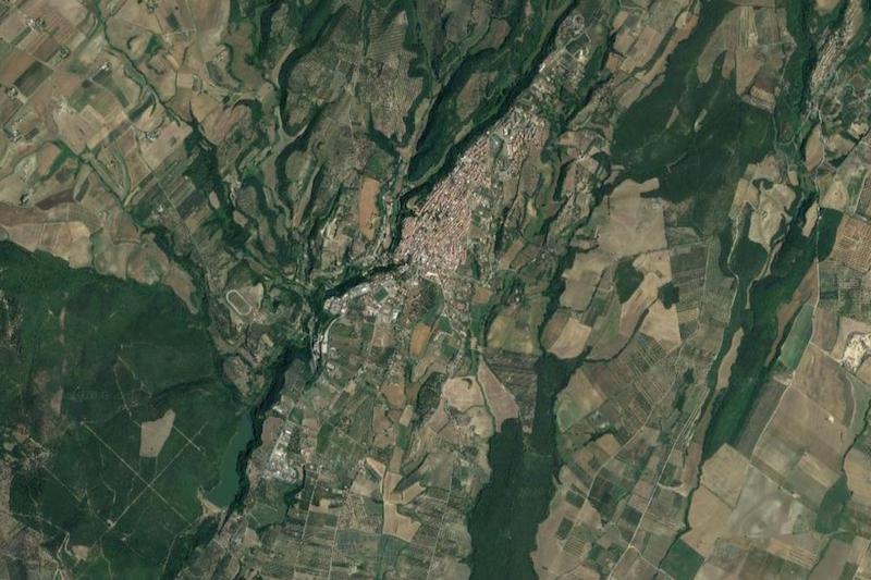 canino map