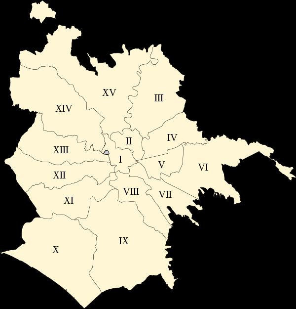 municipi di Roma