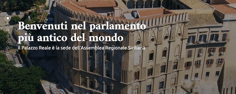 sito assemblea regionale siciliana