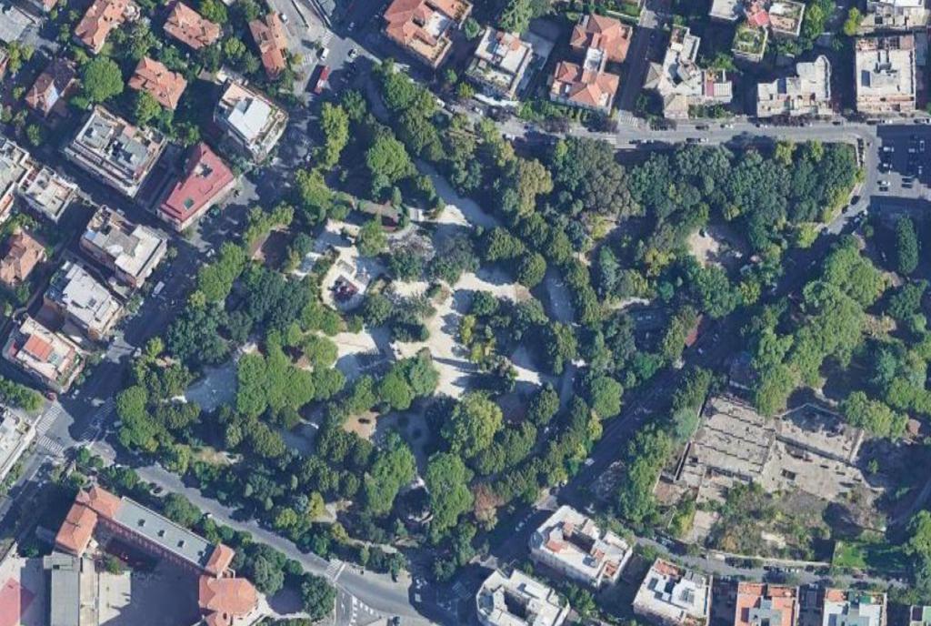 Parco Nemorense map