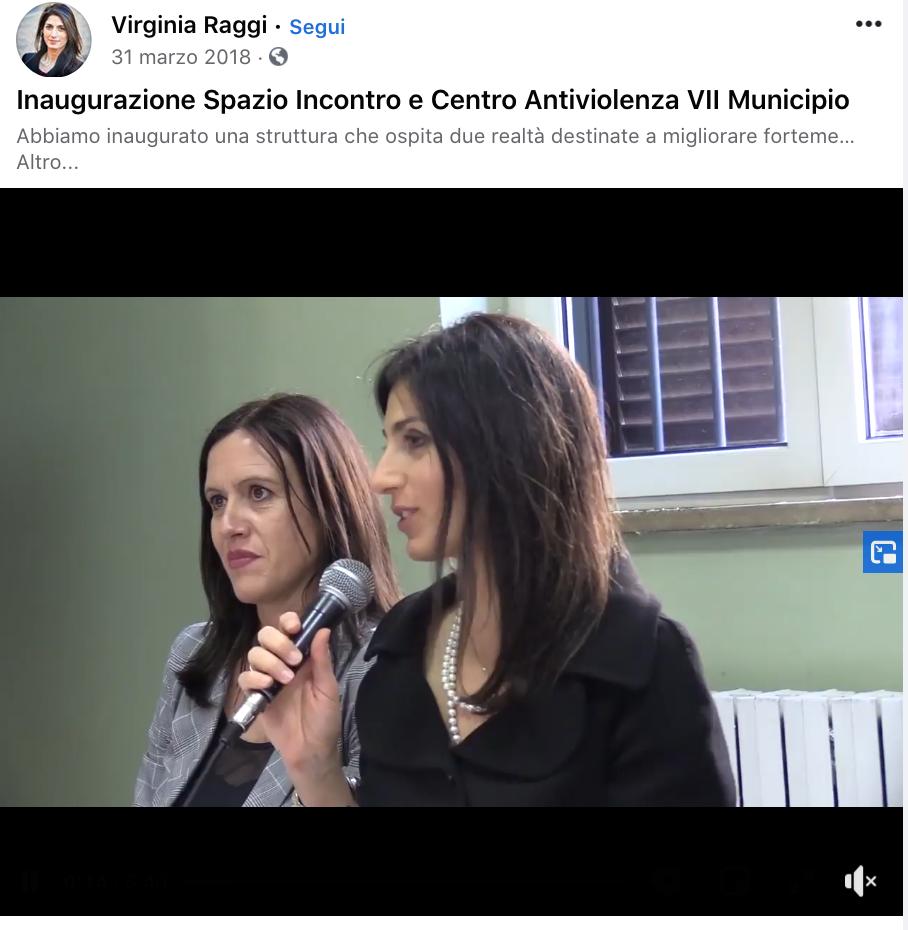 350, centro antiviolenza VII Municipio (nella foto con la Presidente Lozzi)