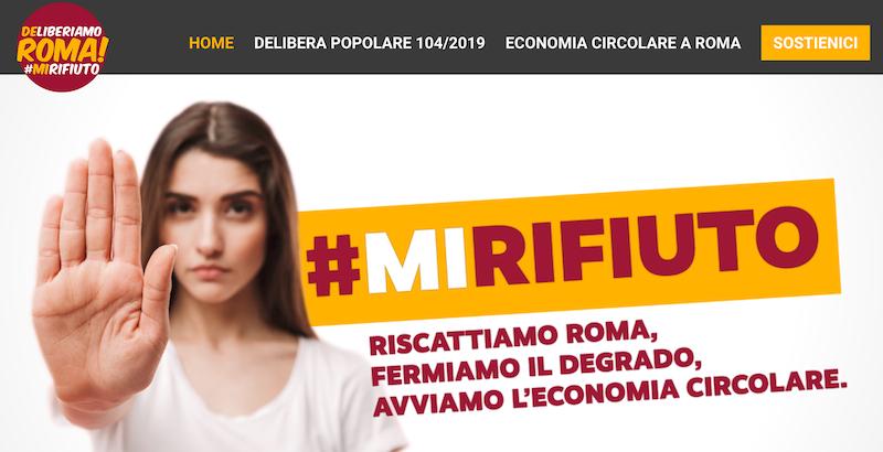 deliberiamo roma mi rifiuto 2020